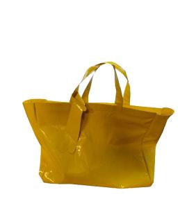 Жёлтая кожаная сумка